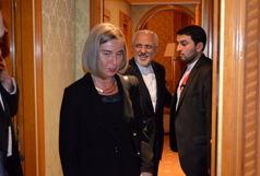 وزیر امور خارجه با موگرینی دیدار کرد