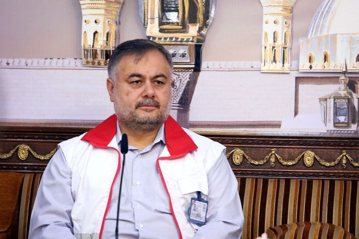 یک شهید ایرانی در میان حادثه دیدگان کربلا