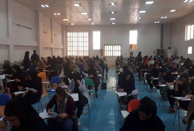 بیش از 2800 نفر در دومین مرحله آزمون هماهنگ و اولین مرحله  آزمون صنعت ساختمان و صنایع دستی و فرش شرکت کردند