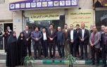 اولین دفتر پیشخوان دولت در قمصر افتتاح شد