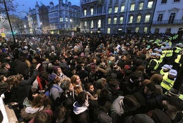 دستگیریهای گسترده در لندن ادامه دارد