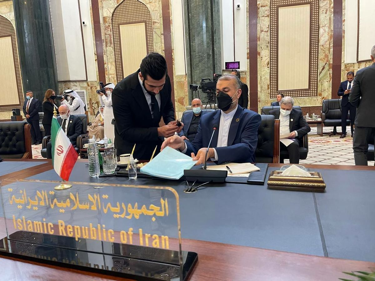 امیرعبداللهیان با نخست وزیر امارات دیدار کرد