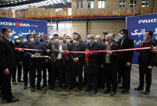 راه اندازی نخستین خط تولید رباتیک یخچال فریزر کشور در قم