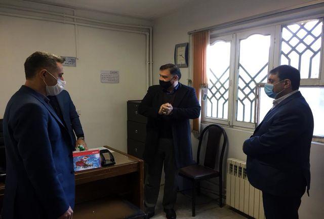 بازدید مدیرکل امور استانهای وزرات تعاون، کار و رفاه اجتماعی از مدیریت شهرستان رشت