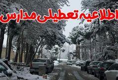 تعطیلی مدارس ارومیه،مهاباد،پیرانشهر و اشنویه بعلت برف