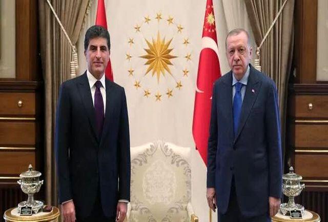 سفر رئیس اقلیم کردستان عراق به ترکیه
