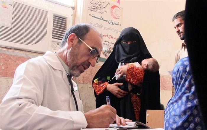 کاروان سلامت فارس در راه سیستان و بلوچستان