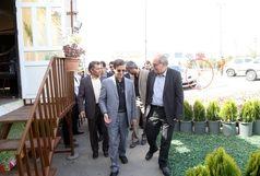 بازدید شهردار قم از روند خدماترسانی در ستادهای نوروزی