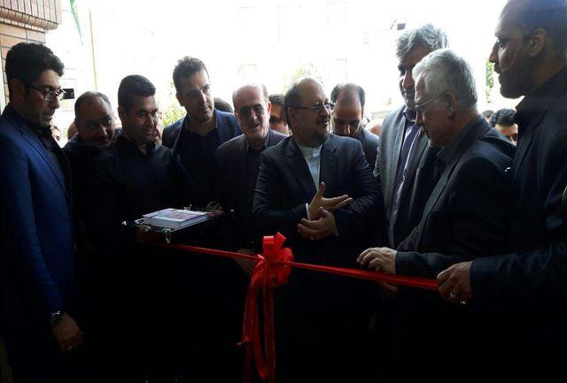 افتتاح و بازدید از ساختمان جدید اتاق اصناف شهرستان لنگرود
