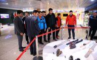 مشتزنان تیم ملی ترکیه و ایران از موزه ملی ورزش المپیک ،پارالمپیک بازدید کردند