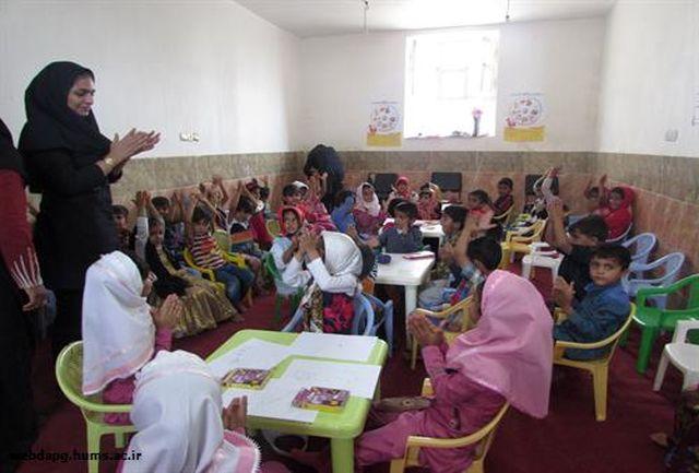 مسابقه نقاشی به مناسبت هفته بسیج تغذیه در مهدکودک های شهر کوهستک برگزار شد