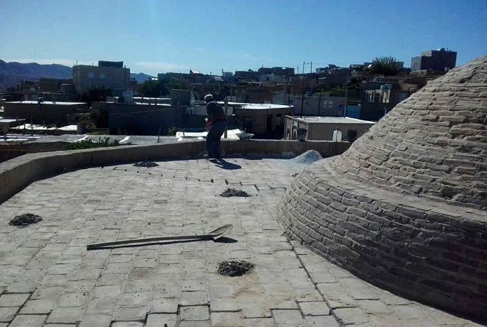 عملیات اجرایی مرمت بنای باغ مزار گرمه آغاز شد