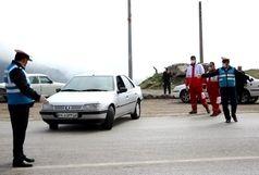 توقف خودرو با پلاک جعلی در گیلان