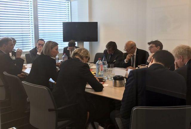 گفتوگوی موگرینی و وزیران خارجه انگلیس، فرانسه و آلمان درباره برجام