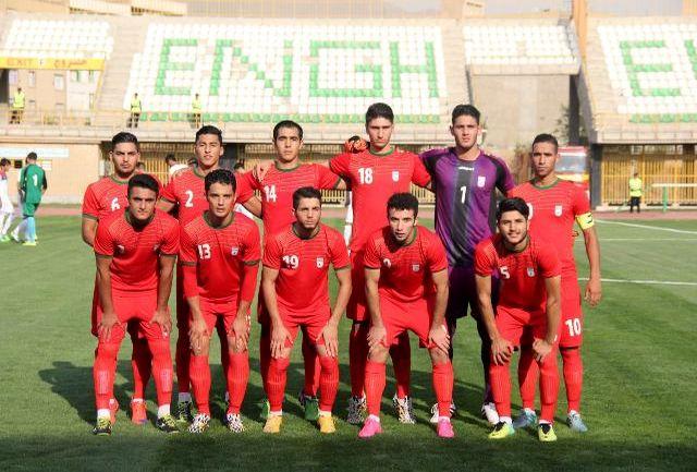 ترکیب تیم ملی جوانان مقابل تیم زیر23 سال هامبورگ اعلام شد