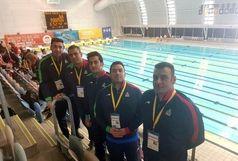 پایان رقابتهای بخش استخری با هشت مدال رنگارنگ برای ایران
