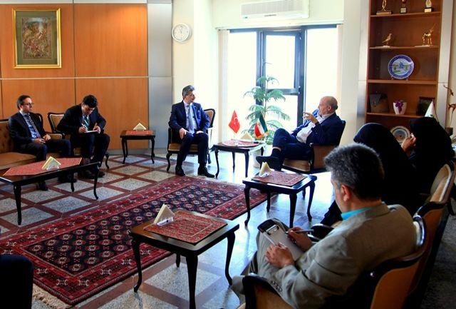 دیدار سفیر ترکیه در ایران با عیسی کلانتری رئیس سازمان حفاظت محیط زیست