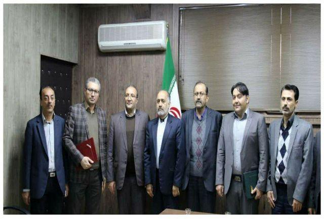 برگزاری مراسم تودیع و معارفه رئیس اداره راهداری و حمل و نقل جاده ای شهرستان خوی