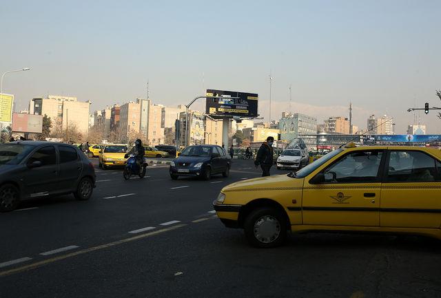 بزرگراههای پایتخت در ترافیک