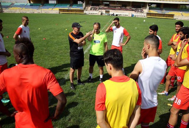 برنامه تمرینات سرخپوشان تا بازی با کاشیما آنتلرز در تهران