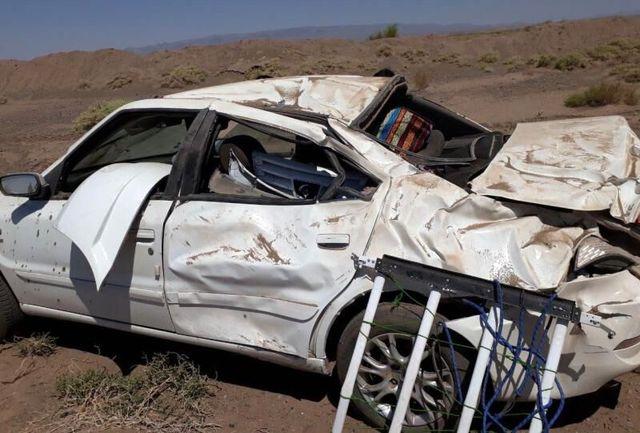 حادثهرانندگی در تفرش  ۲ کشته برجا گذاشت
