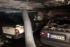 آتش سوزی در یک ساختمان اداری-تجاری /حادثه تلفات و مصدوم نداشت