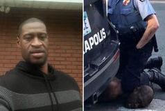 همه کلماتی که مرد سیاهپوست زیر زانوی پلیس گفت!