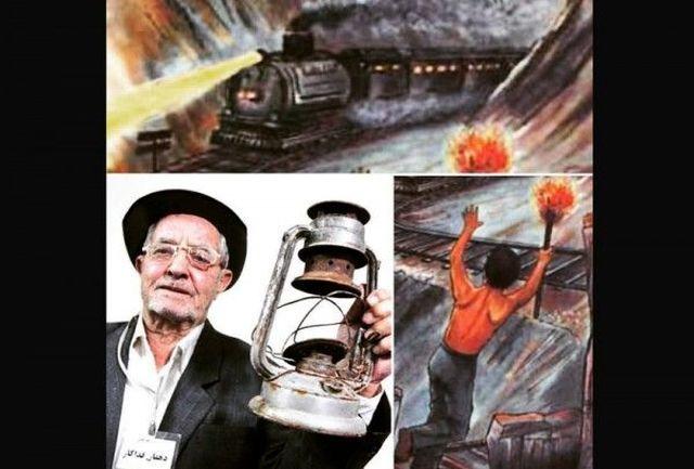 نجات جان صدها مسافر قطار تبریز به تهران