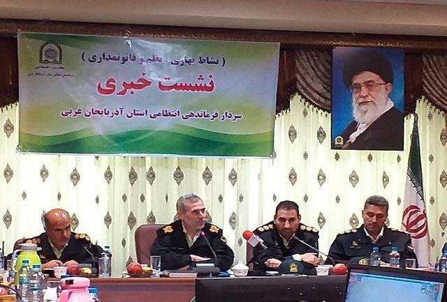 سردار خرم نیا : برخورد با هنجارشکنن سرلوحه ماموریت پلیس در چهارشنبه آخر سال
