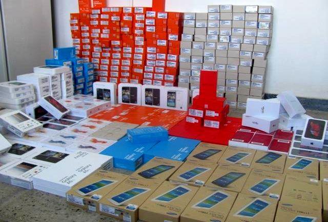 قاچاقچی گوشی تلفن همراه به جریمه دو میلیارد ریالی محکوم شد