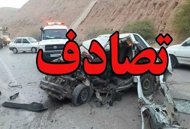 ۲۴ نفر دراثر تصادف در شب تاسوعا مصدوم شدند