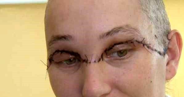 نابود شدن صورتش این زن با مته برقی!+عکس
