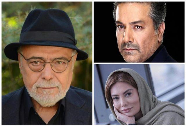 انتخاب سه بازیگر، «رقص روى شیشه»