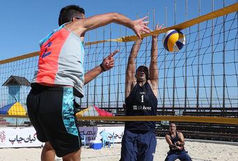 مسابقات والیبال ساحلی سه ستاره کیش،جام کیان