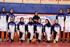 پیروزی قاطع دختران بسکتبال اروند مقابل منتخب استان یزد