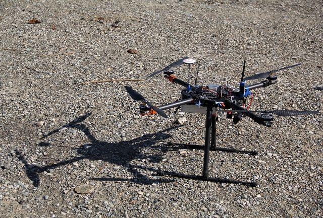 تست عملیاتی اولین پهپادعمود پرواز آتش نشان در نمایشگاه آتش نشانی