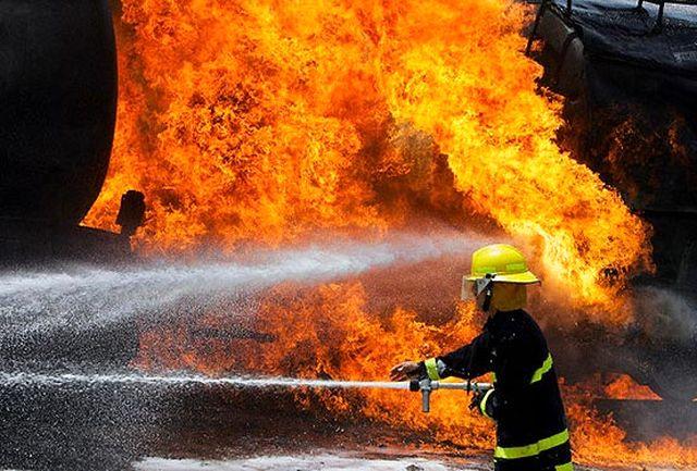 آتش مسجد جامع ساری مهار شد