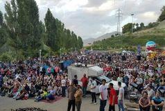 استقبال ۴۰۰۰ نفر از اکران مسابقات جام جهانی در بوستان نهج البلاغه