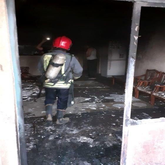حادثه مینیاتوری منزل مسکونی کیانشهر اهواز را به آتش کشید