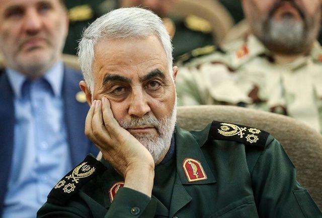 اعطای نشان فداکاری افتخاری ارتش به شهید سردار سلیمانی