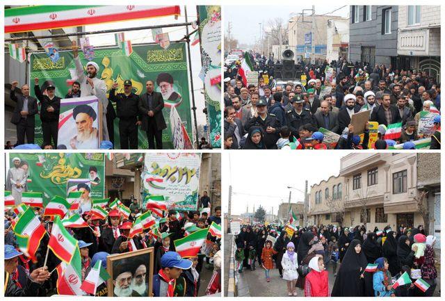 پیام تشکر و قدردانی بخشدار قلعه نو از حضور مردم این بخش در راهپیمایی 22 بهمن