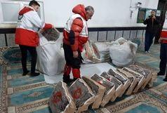 اسکان اضطراری ۳۸۰مسافر گرفتار در برف و کولاک گردنه اسدلی
