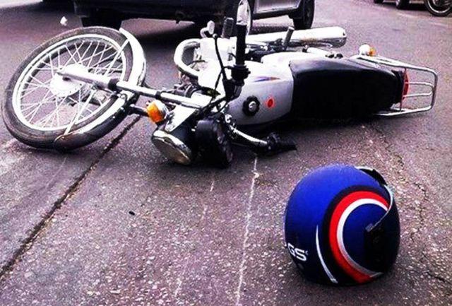 برخورد خونین و وحشتناک 2 موتورسیکلت
