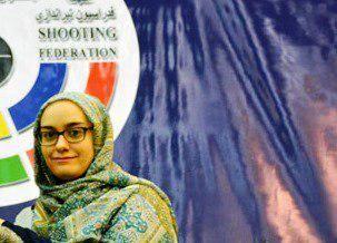 دعوت از حسنا توتون چی تیرانداز تهرانی به اردوی انتخابی تیم ملی تفنگ