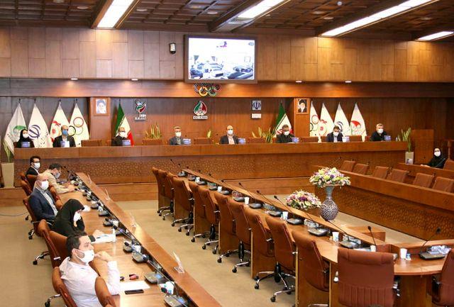 مجمع عمومی فدراسیون اسکواش برگزار شد