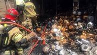 آخرین جزئیات آتش سوزی منزلی در محله صالح آباد تهران