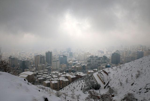 ایران برفی می شود