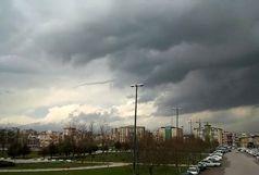 تهران ابری ولی بدون باران