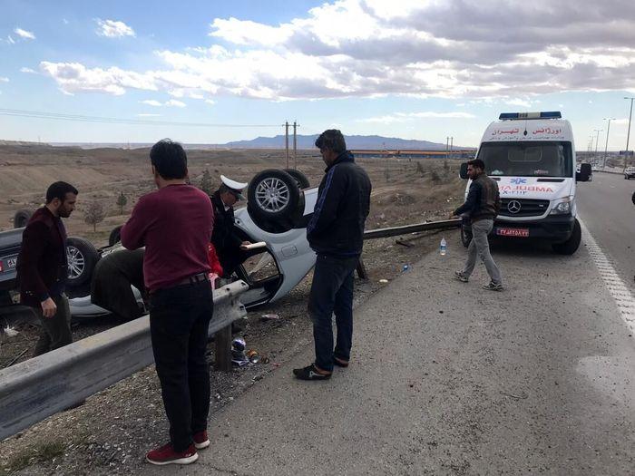 2 کشته در حادثه تصادف 405 با تریلی!