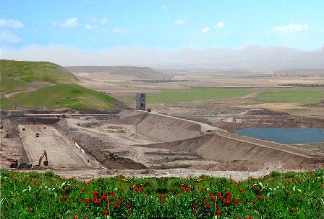 سد مخزنی نهب اواخر اسفند ماه آبگیری می شود
